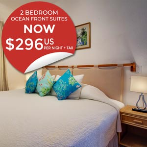 Two Bedroom Ocean Front Suites for only $296US