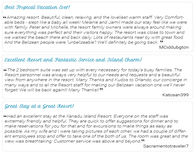 Our TripAdvisor Guest Reviews Keeps Us Motivated