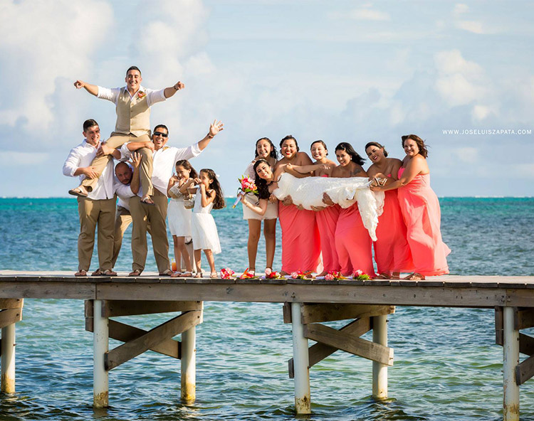 Say your I-do's in Paradise with a Belize Destination Wedding Package