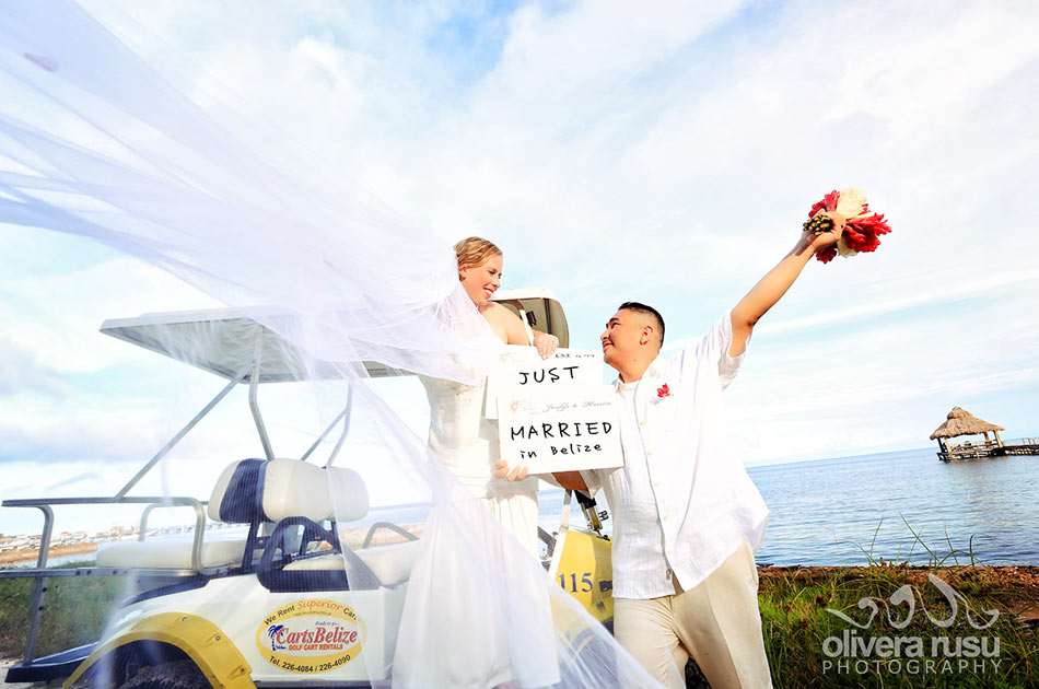 Belize destination wedding package san pedro beach wedding an error occurred junglespirit Images