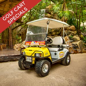 Complimentary Golf Cart with Select Accommodations
