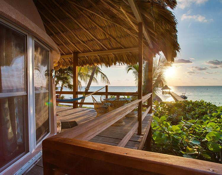 A Belize Beach Resort with the Most Unique Accommodations (in the World)