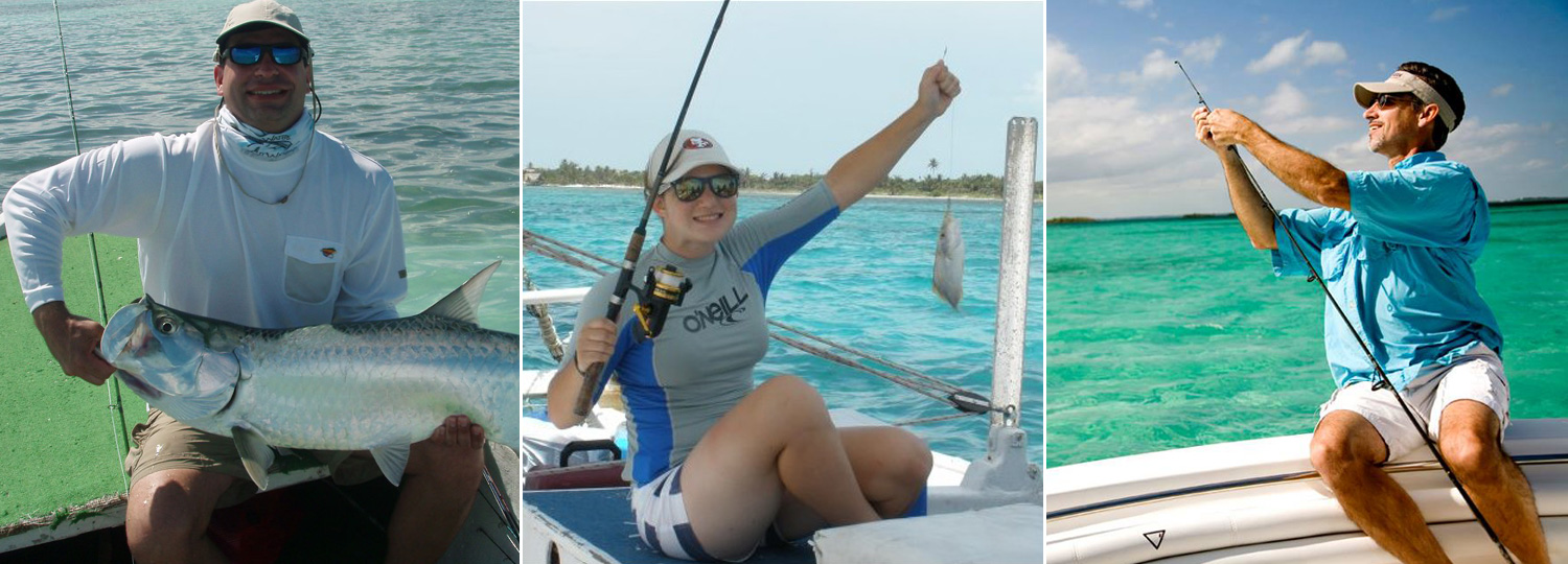 Slam Fishing At San Pedro Ambergris Caye Belize Beach Resort