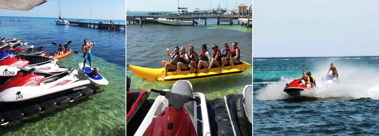 Water Sports at San Pedro Ambergris Caye Belize