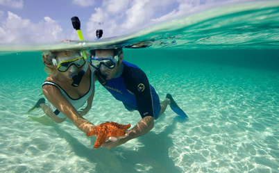 Snorkeling package from our San Pedro Ambergris Caye Belize Beach Resort