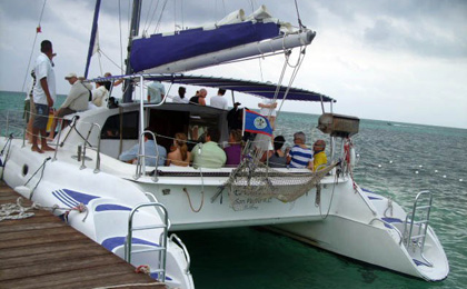 Sunset Sail at San Pedro Ambergris Caye Belize